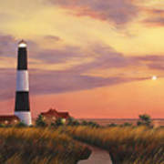 Fire Island Lighthouse Print by Diane Romanello