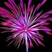 Fireworks Americana Print by Steve Ohlsen