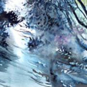 Flooding Print by Anil Nene