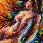 Flow Of Love Print by Leonid Afremov