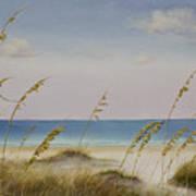 Folly Beach Print by Cindy Davis