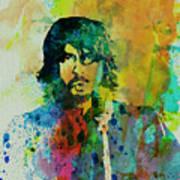 Foo Fighters Print by Naxart Studio