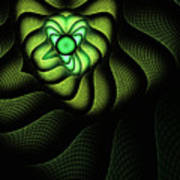 Fractal Cobra Print by John Edwards