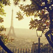 French Romance Print by by Smaranda Madalina Cheregi
