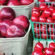 Fresh Market Fruit Print by Jeff Kolker