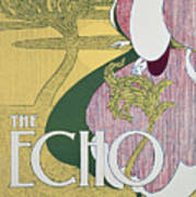 Front Cover Of The Echo Print by William Bradley