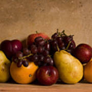 Fruit Still Life Print by Andrew Soundarajan