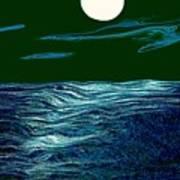 Full Moon 3 Print by Mimo Krouzian
