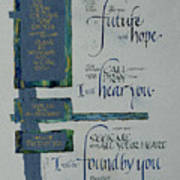 Future Hope II Print by Judy Dodds