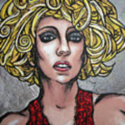 Gaga Print by Sarah Crumpler