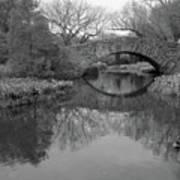 Gapstow Bridge - Central Park - New York City Print by Holden Richards