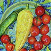 Garden Harvest Print by Shawna Rowe