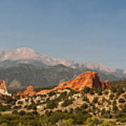 Garden Of The Gods Print by Brian Harig