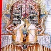 Gates Of Self-knowledge Print by Paulo Zerbato