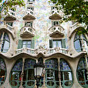 Gaudi Architecture Print by Laura Kayon