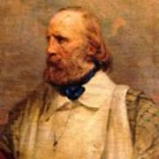 Giuseppe Garibaldi Print by Pg Reproductions