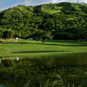 Golfito Desde La Laguna Print by Bibi Romer
