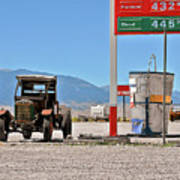 Good Bye Death Valley - The End Of The Desert Print by Christine Till
