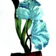 Gorgeous Flowers Print by Marsha Heiken