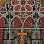 Gothic Church 2 Print by Scott Hovind