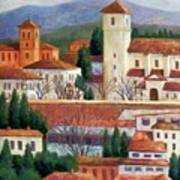 Granada View Print by Candy Mayer