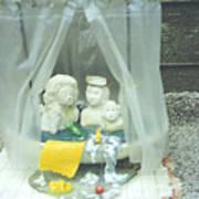Grandkids In The Tub Print by Doris Lindsey
