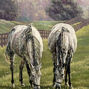 Grazing Print by Thomas Allen Pauly