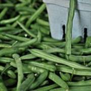 Green Beans Print by William Jones