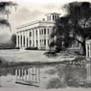 Greenwood Plantation Print by Ron Landry
