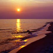 Gulf Of Mexico Sunset Print by Thomas R Fletcher
