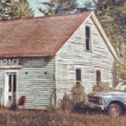 Gus Klenke Garage Print by Scott Norris
