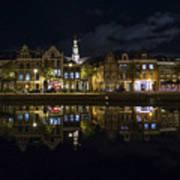 Haarlem Night Print by Chad Dutson