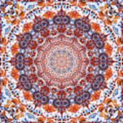 Healing Mandala 2 Print by Bell And Todd