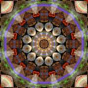 Healing Mandala 30 Print by Bell And Todd