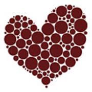 Heart Print by Frank Tschakert