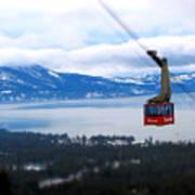 Heavenly Tram South Lake Tahoe Print by Brad Scott