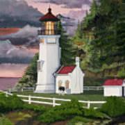 Heceta Head Lighthouse Print by James Lyman