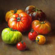 Heirloom Tomatoes Print by Robert Papp