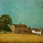 Henry House At Manassas Battlefield Park Print by Kim Hojnacki