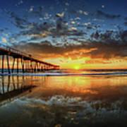 Hermosa Beach Print by Neil Kremer