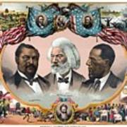 Heroes Of The Colored Race  Print by War Is Hell Store