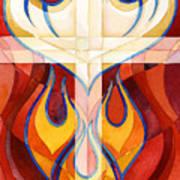 Holy Spirit Print by Mark Jennings