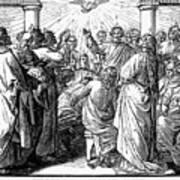 Holy Spirit Visiting Print by Granger