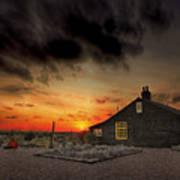 Home To Derek Jarman Print by Lee-Anne Rafferty-Evans