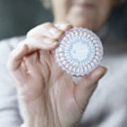 Hormone Replacement Therapy Pills Print by Cristina Pedrazzini