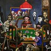 Horror Card Game Print by Tom Carlton