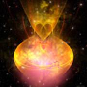 Hourglass Nebula Print by Corey Ford