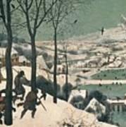 Hunters In The Snow Print by Pieter the Elder Bruegel