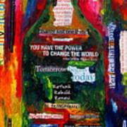 I Am Inspired Print by Patti Schermerhorn