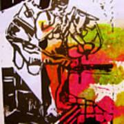 icarus II Print by Adam Kissel